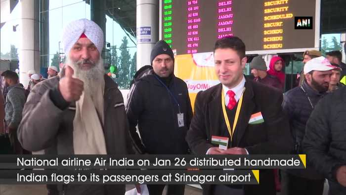 Air India distributes handmade seed flags to mark Republic Day