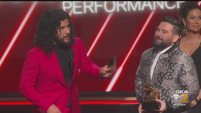Dan + Shay Win GRAMMY Award For Best Country Duo