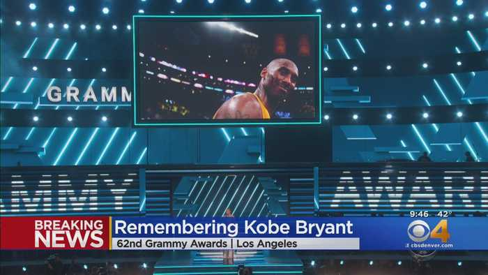 Kobe Bryant Honored At 62nd Annual Grammys