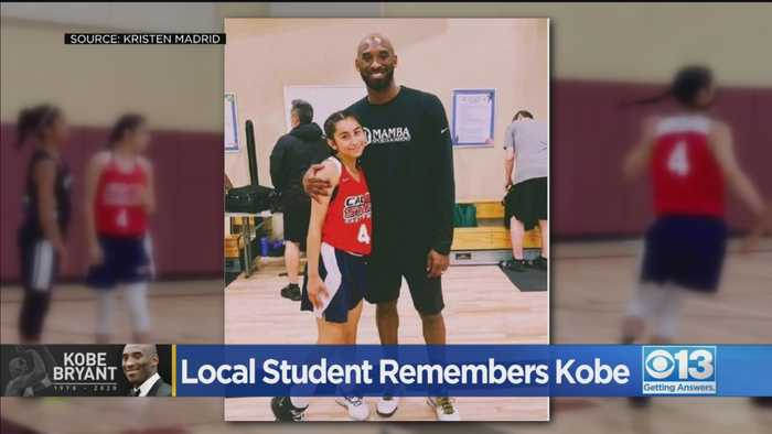 Roseville Teen Reflects On Connection With Kobe Bryant Following His Death