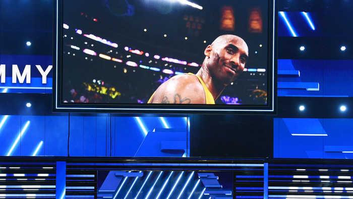 The Grammys pay tribute to Kobe Bryant