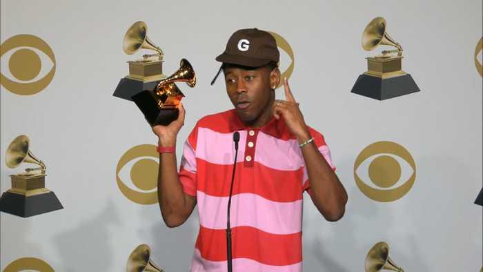 Tyler, The Creator Talks Grammys Win, Kobe Bryant Backstage
