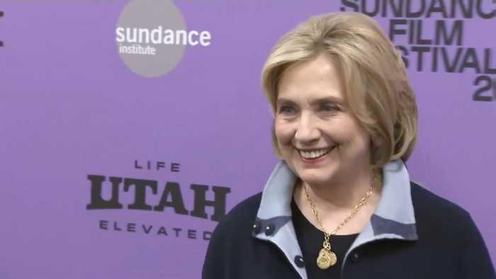 Hillary Clinton Talks Politics At Sundance