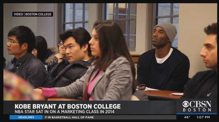 Kobe Bryant Left Students With Special Memory In 2014 Visit To Boston College