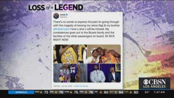 NBA Legends Mourn Loss of Kobe Bryant