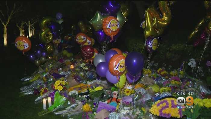 Fans Flock To Kobe Bryant's Neighborhood To Pay Their Respects