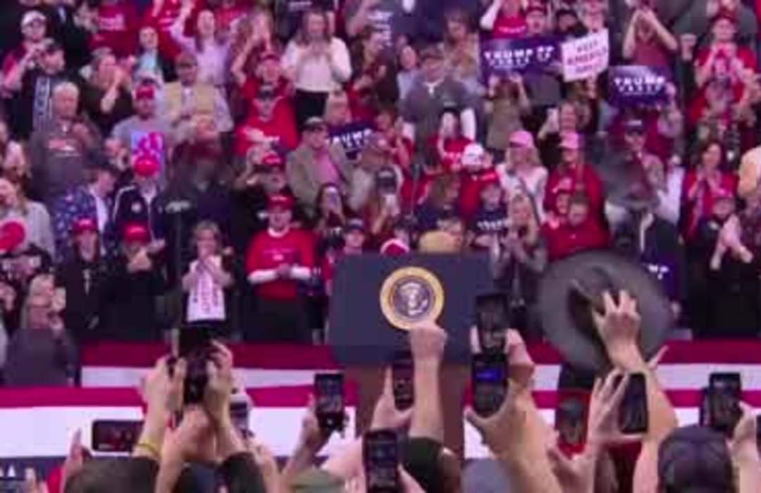 Trump rails against Dems: 'I just got impeached'