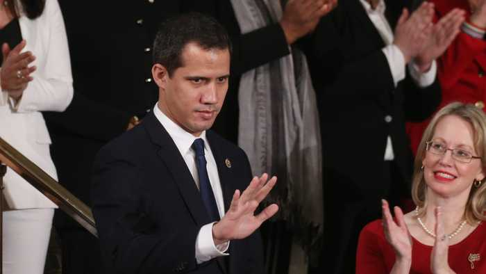 U.S. Tells Venezuela's Maduro Not To Interfere With Juan Guaido's Return To Venezuela
