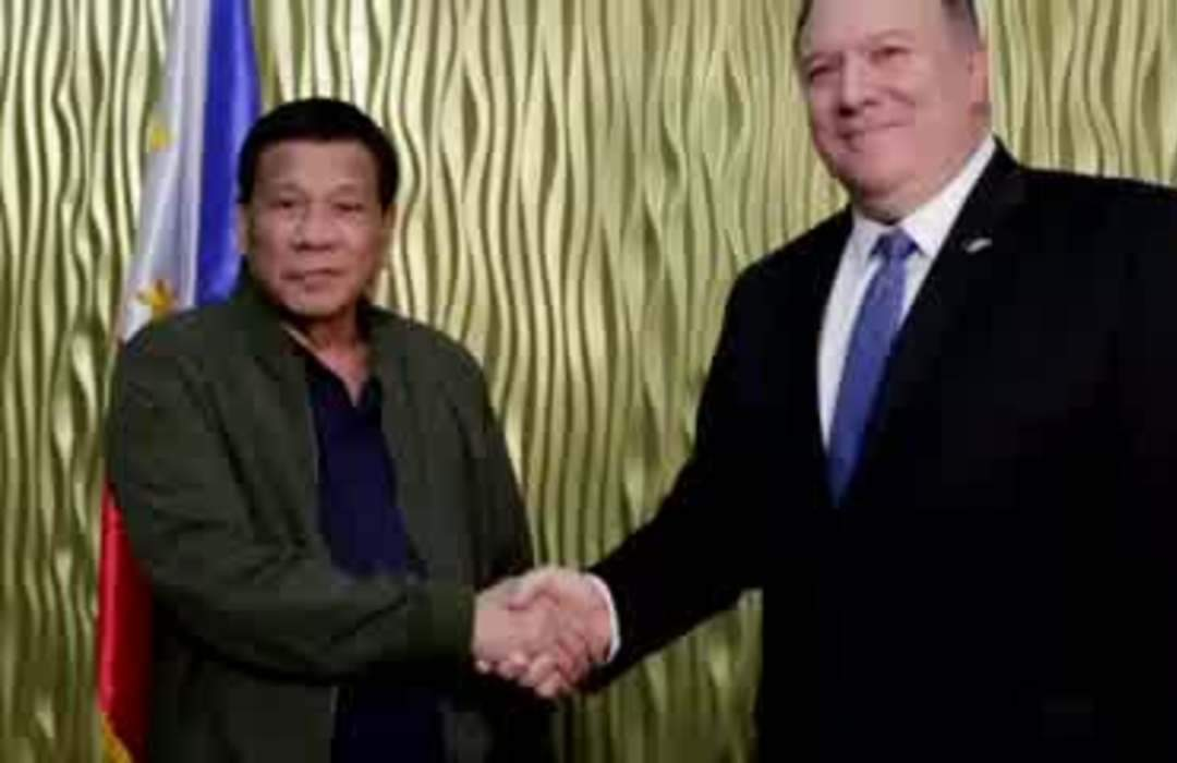 Trump shrugs off end to Philippines military pact