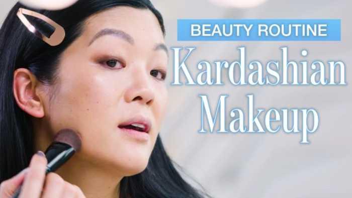 Beauty Expert Tries Kim Kardashian's Everyday Makeup Tutorial in 28 Minutes