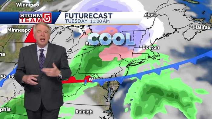 Video: Mild Presidents' Day to be followed by wintry mix