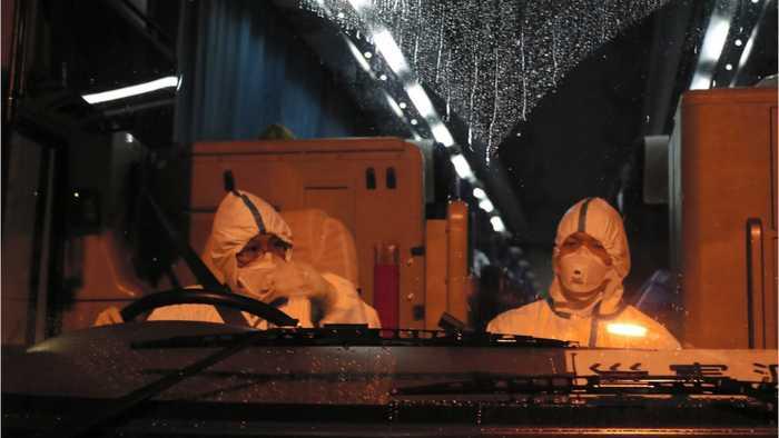 Americans Return After Being On Coronavirus Cruise Ship