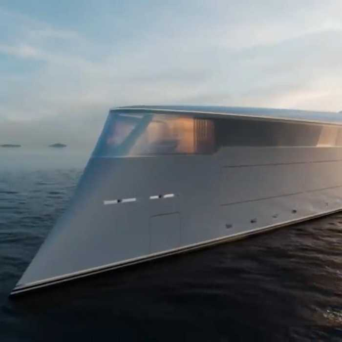 This is the world's first hydrogen-powered luxury superyacht