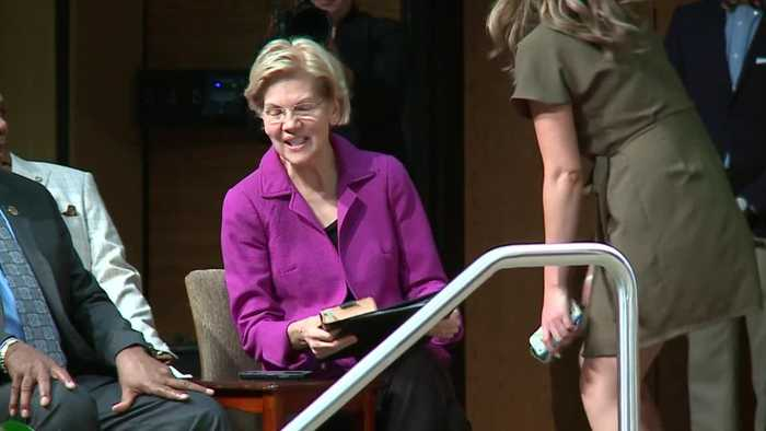 Warren Breaks 'No Super Pacs' Promise