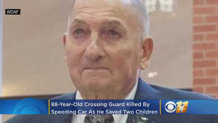 Officials: 88-Year-Old Crossing Guard Killed By Speeding Car As He Saved 2 Children