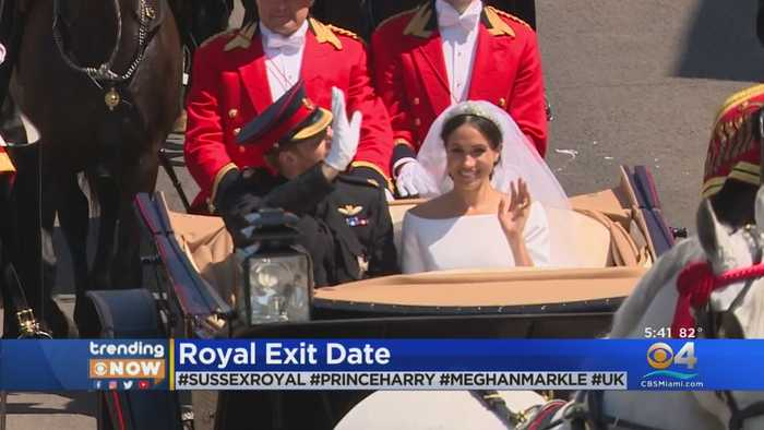 Trending Now: Royal Exit Date