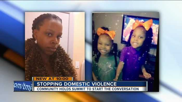 Domestic violence summit looking for solutions in Milwaukee after mother, daughters murdered