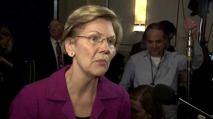 Warren to Bloomberg: 'take your ego off the stage'