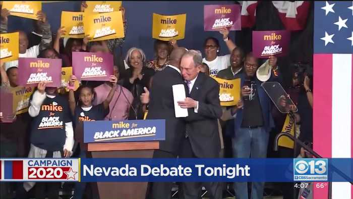 Michael Bloomberg Joins Democratic Debate Stage For The First Time