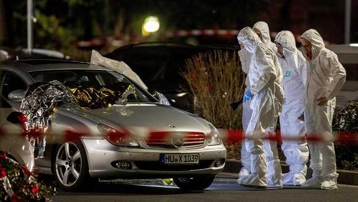 Germany shootings: Suspect 'found dead' after several killed in shisha bar attacks