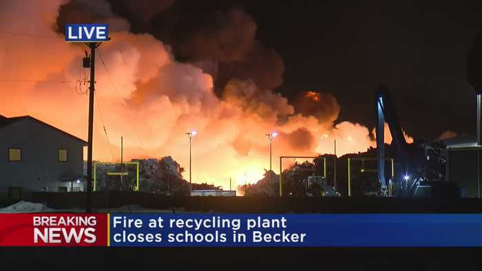 Becker Schools Closed Due To Northern Metals Fire