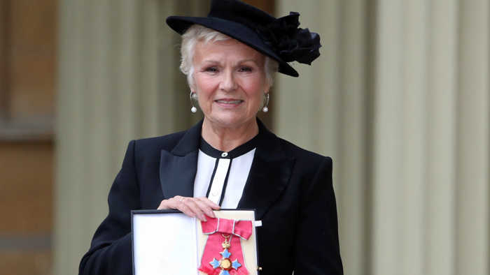 Julie Walters given all-clear after stage three bowel cancer diagnosis