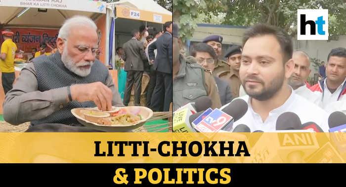'Eating litti chokha fine but..': Tejashwi Yadav slams PM Modi