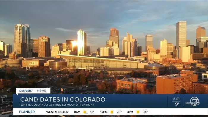 Colorado campaign blitz underway for presidential candidates