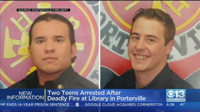 2 Firefighters Die In Porterville Library Fire