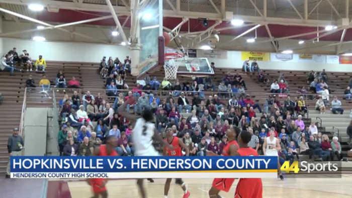 HS BB: Henderson County Edges Hopkinsville