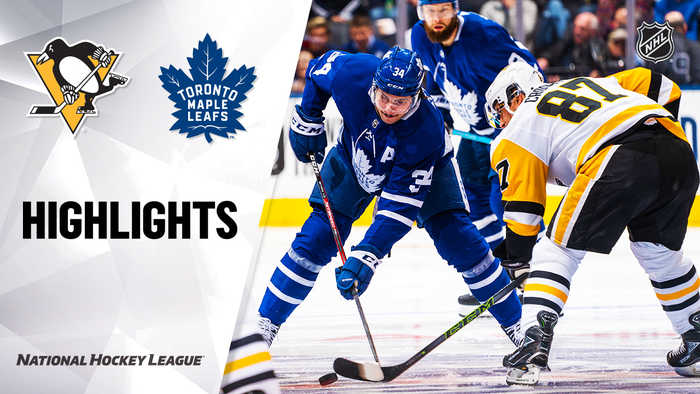 NHL Highlights   Penguins @ Maple Leafs 2/20/2020