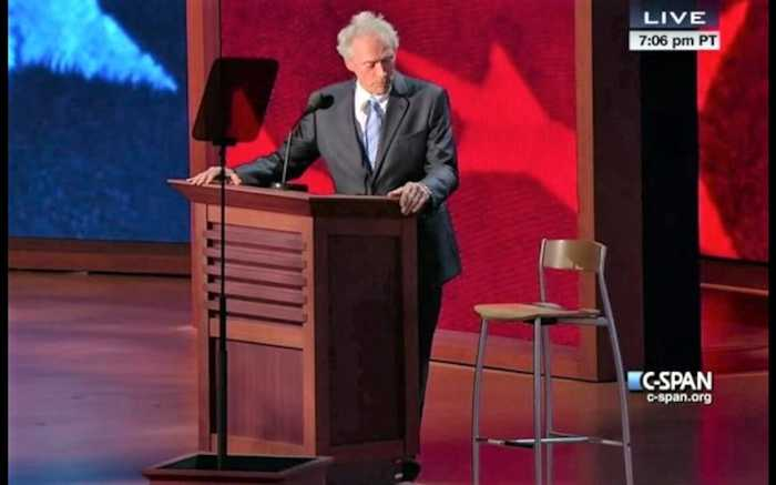 Clint Eastwood Explains Talking to Empty Chair With 'Invisible Obama'.