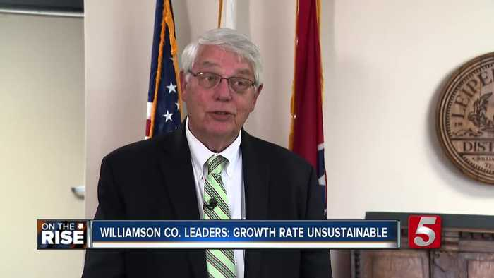 Williamson County faces challenges with growth