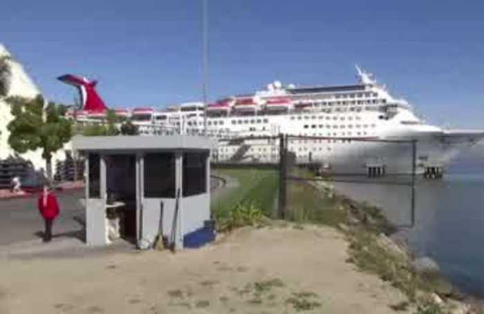 California cruise passengers won't let coronavirus spoil their fun