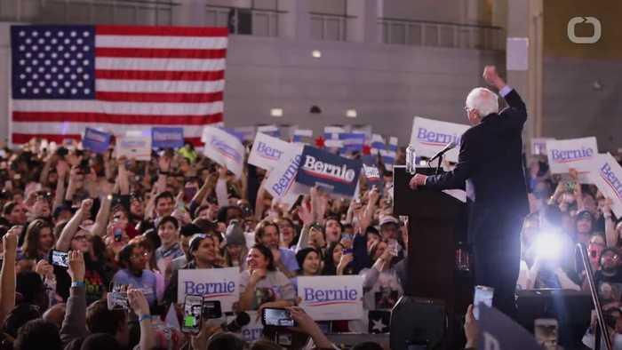 Sanders predicted winner in Nevada