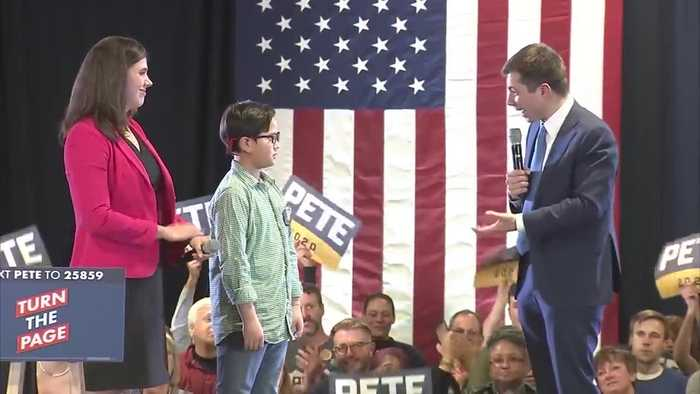 9-year-old boy asks Pete Buttigieg for help telling the world he's gay