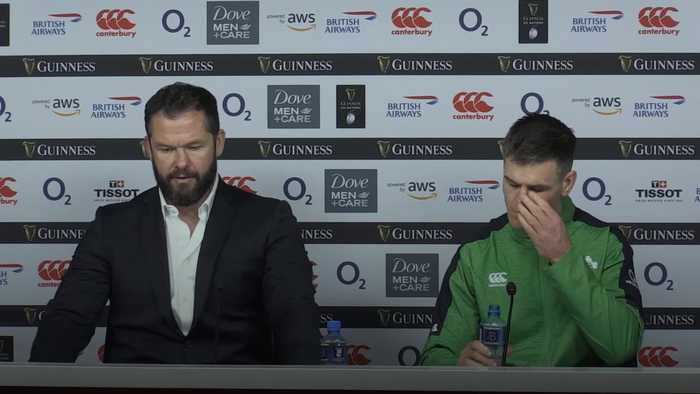 Andy Farrell: They were up for it more than us