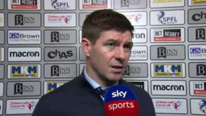 Gerrard upset by Rangers' defending