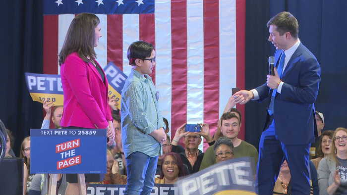 WEB EXTRA: 9-Year-Old Asks Presidential Candidate Pete Buttigieg Serious Question