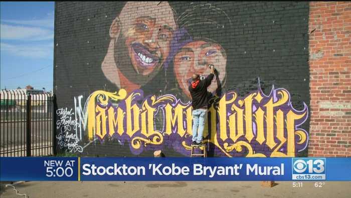 Stockton Kobe Bryant Mural