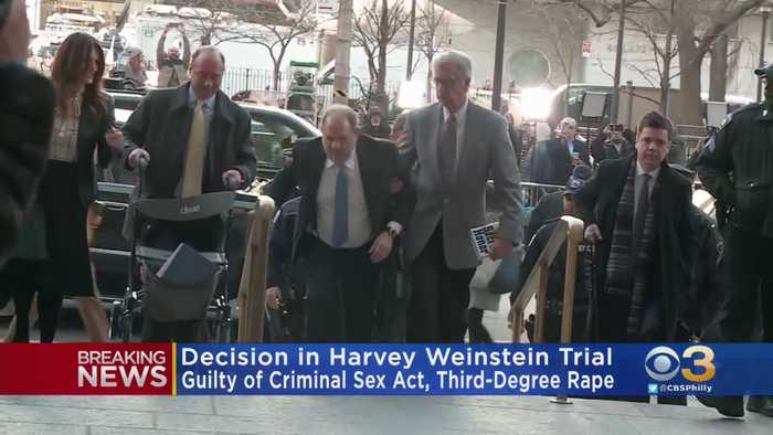 Harvey Weinstein Found Guilty Of 3rd Degree Rape, Criminal Sexual Act For Assault