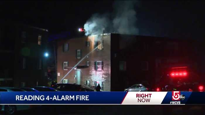 2 seriously injured in Reading fire