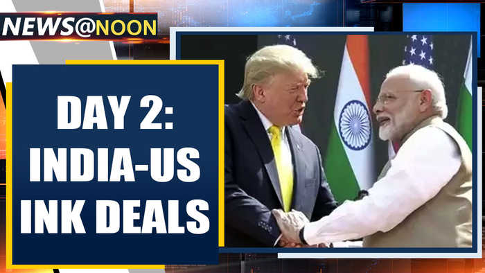 Trump-Modi hold bilateral; Delhi remains tense day after violence| Oneindia News