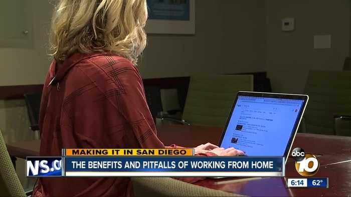 San Diego is home to employees who love to work from home
