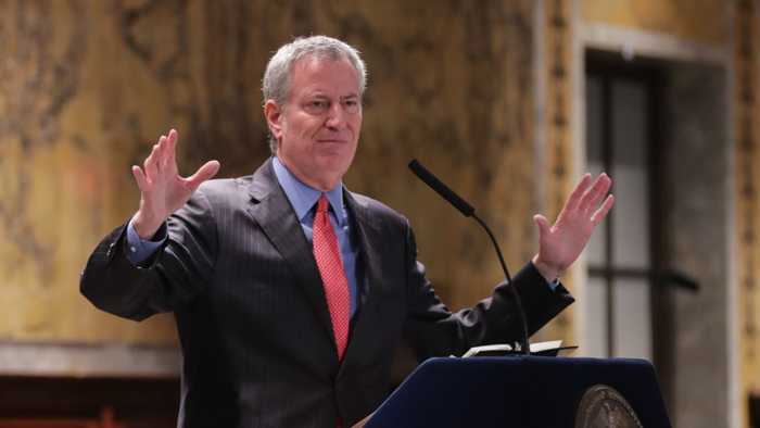 Bill de Blasio Criticizes Pete Buttigieg Attacks On Bernie Sanders