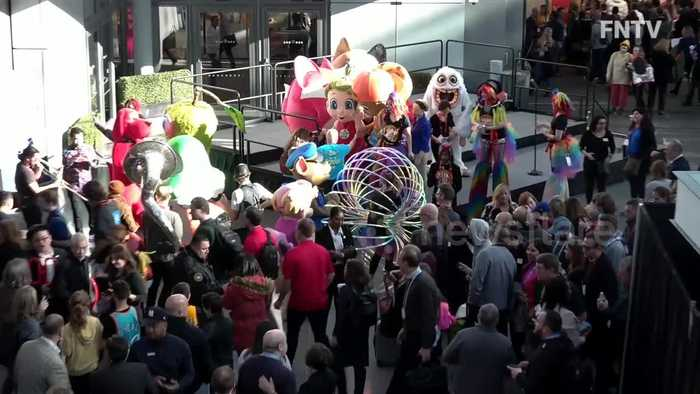 New York Toy Fair showcases goods as industry experts worry about effect of coronavirus