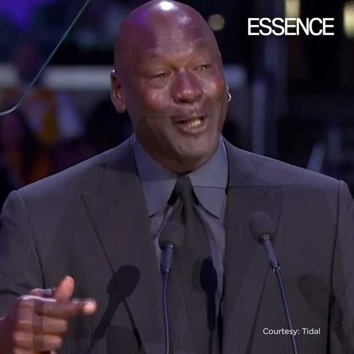 Michael Jordan Speaks about Becoming Another Meme at Kobe and Gianna's Memorial