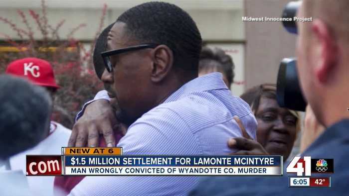 Wrongfully convicted Lamonte McIntyre to receive $1.5 million from Kansas