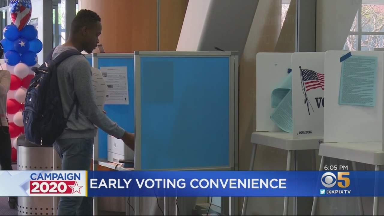 South Bay Voters Cast Early Primary Ballots At New Polling Centers