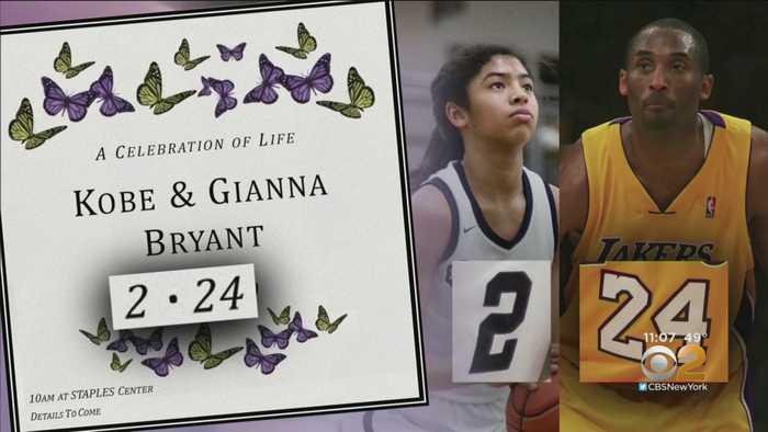 Thousands Attend Kobe Bryant Tribute